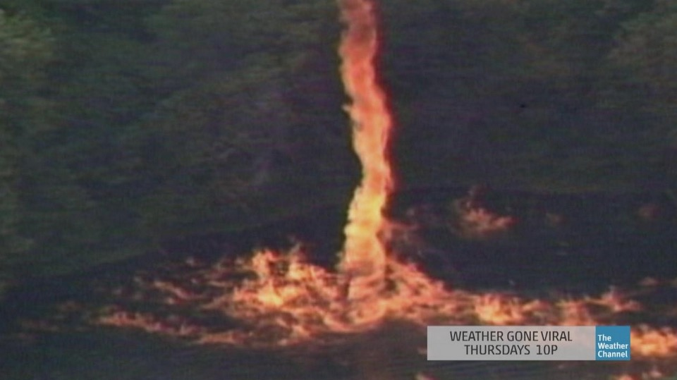 800 000 Gallons Of Spilled Jim Beam Leads To Firenado