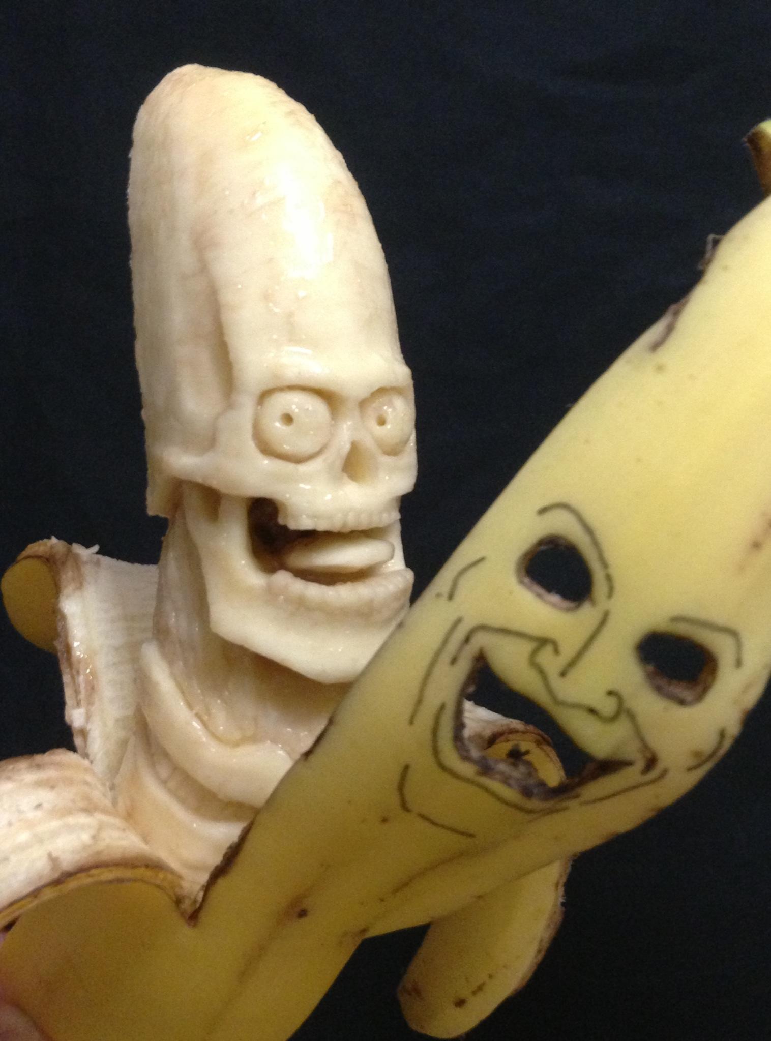 Член виде банана фото 1 фотография