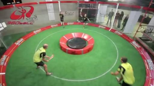 360ball Is a Unique Combination of Several Sports