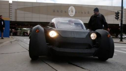 Local Motors Designs World's First Ever 3D-Printed Car That Really Runs
