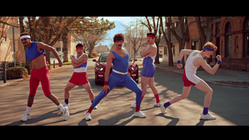 The 80s Called: They Want to Challenge You to a Tubular Aerobic Dance Battle!