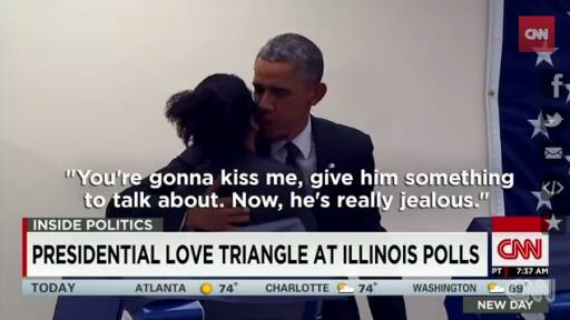 Hey Obama: 'Don't Touch My Girlfriend'