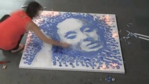 Amazing Art Project of Adele 