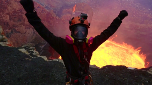 Adventuring Into an Active Volcano