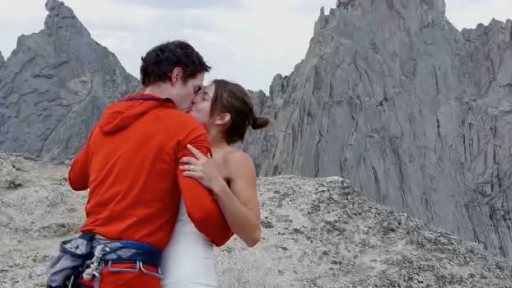 Sorry Ron Burgundy, This Couple Already Got Married on the Top of a Mountain