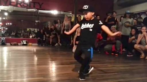 8-Year-Old Aidan Prince Can Bust a Move