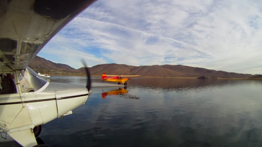 Beautifully Shot Video Features Airplanes Waterskiing