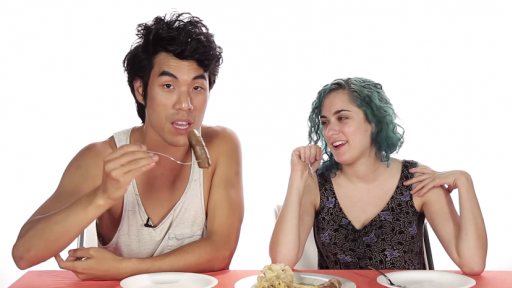 Americans Attempt to Enjoy Some German Foods