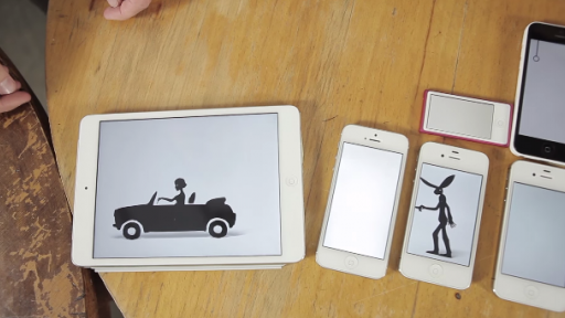 Incredible Love Story Told Using 14 Different Apple Device Screens
