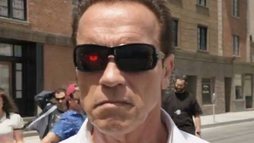 Schwarzenegger Pumped Up About YouTube Comedy Week