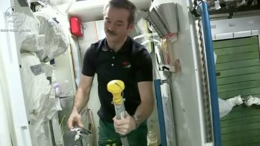 Apparently Astronauts Drink Their Own Pee