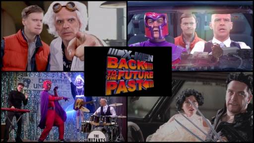 'Back to the Future' Meets 'Days of Future Past'