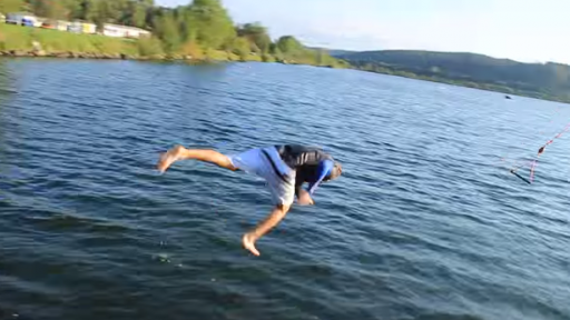 Smack Goes the Face on this Barefoot Waterski Fail!