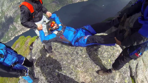 If BASE Jumping Wasn't Already Dangerous Enough...