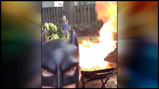 BatDad on the 4th of July!