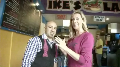 The Beth Troutman: RTM Host and the New Sandwich at Ike's Place