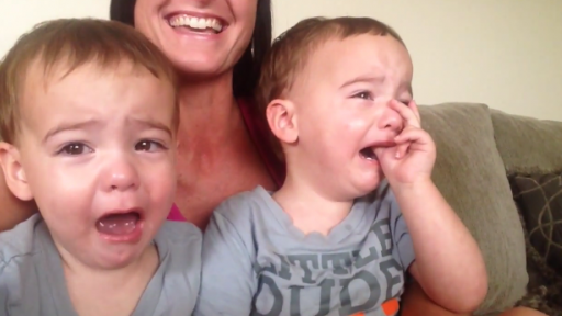 Boy's Saxophone Playing Brings His Twin Brothers to Tears