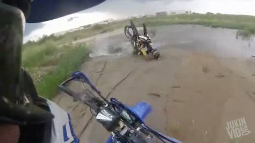 Nothing But 'Ouch' for These Riders