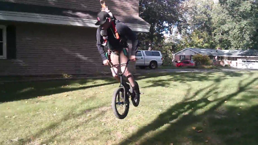 Doesn't Get Much Cooler Than a Bike Swing, Does It?