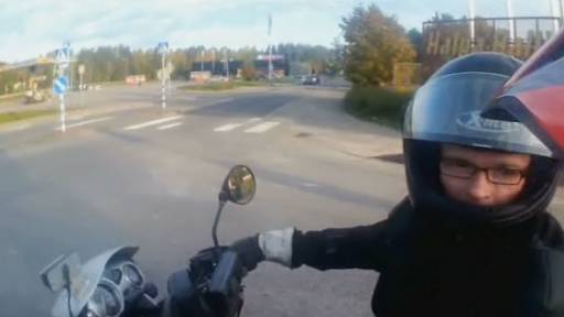 Note to Bikers: Don't Speed Off When a Cop Pulls You Over