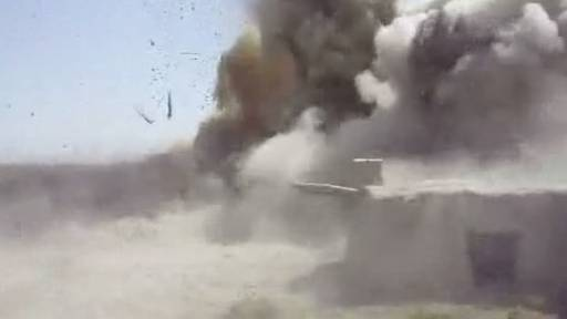 Boom Goes the Dynamite at Afghan Bomb Factory