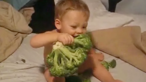 A Boy and His Love for Broccoli