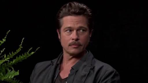 Brad Pitt Grilled on 'Between Two Ferns'