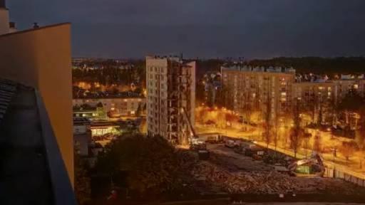 Motion Capture Makes Building Demolition Look Like Art