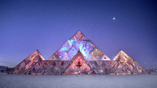 Time-Lapse of 'Burning Man' Is Magnificent
