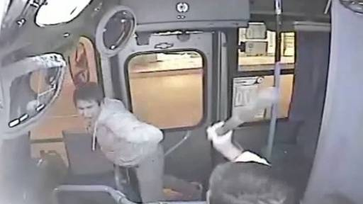 Bus Driver Fights Thief as He Drives