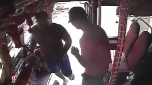 Passengers and Driver Robbed on Bus