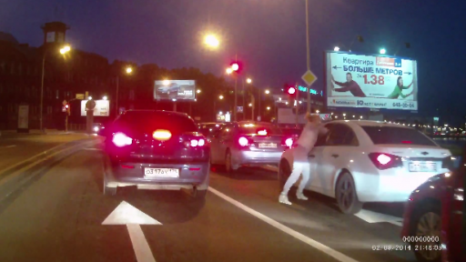 There's Always Car Drama in Russia