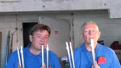 French Guys Make Music With Everyday Things