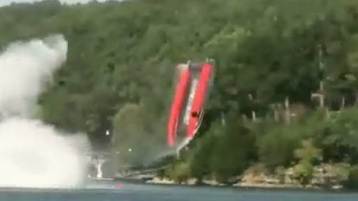 Two Boaters Injured After Catamaran Goes Flying
