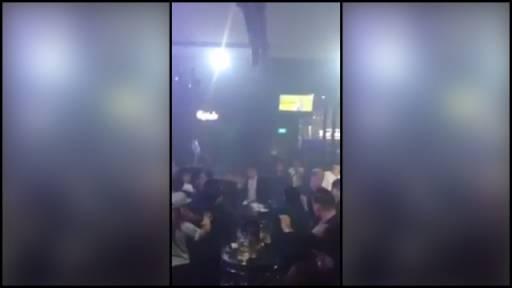 Chaos Erupts Inside Nightclub