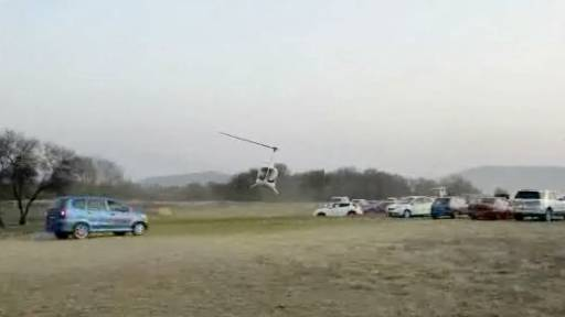 Students Take Helicopter to Dance and Literally Shut It Down