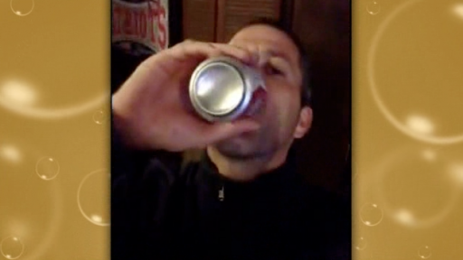 Men Attempt to 'Strike Out' PMS With Beer Chugging Challenge