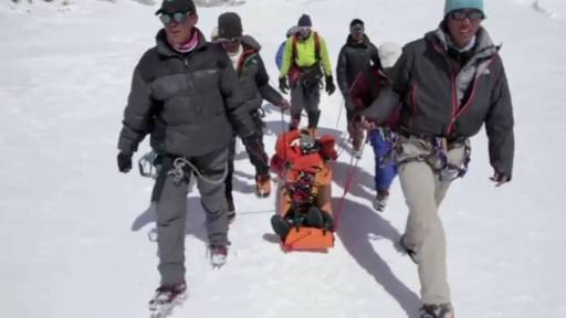 Climber Photographer Rescued from Mount Everest