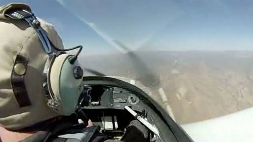 Taking to the Sky With a Cockpit View