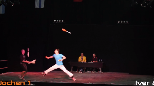 Combative Juggling Is Just as Cool as It Sounds!