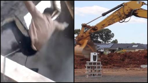 Construction Worker Fails & Fun