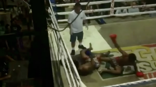 The Crazy Fight in Thai Kickboxing History, Or So We Think...