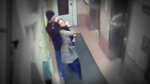 Chilling Video Shows Man Choking Woman Before Robbing Her