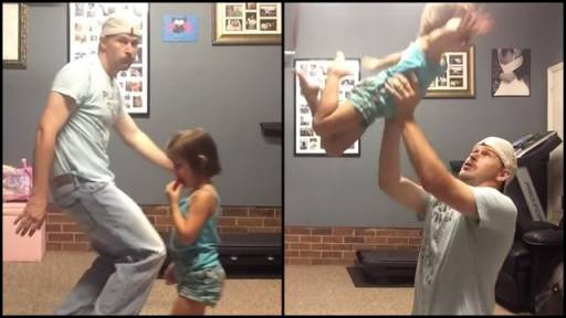 Dancing Daddy-Daughter Duo Is All About That Bass!