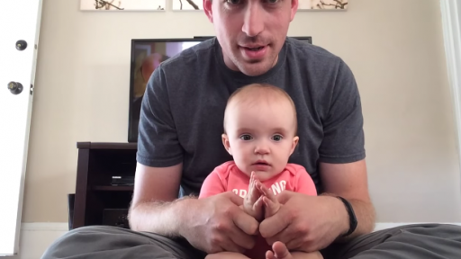 This Adorable Baby Girl and Her Daddy Pretending to Drive Will Make You Happy