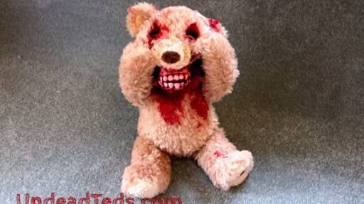 Zombie Teddy Bear Is What Nightmares Are Made Of