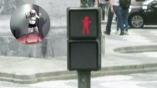 Dancing Traffic Light Is a 'Smart' Idea