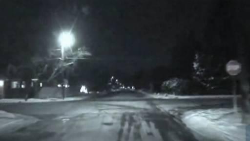 High School Cheerleaders Hit Police Vehicle
