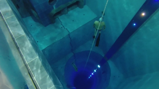 Dive into the Deepest and Scariest Pool Ever!