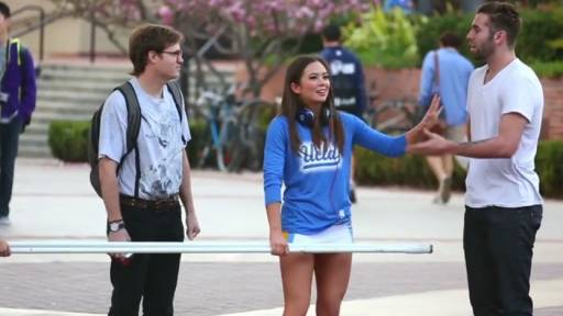 Students Defend 'Nerdy Guy' During Social Experiment